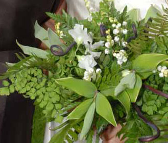 Spring Fern Bouquet
